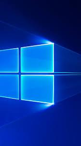 windows 10 s stock blue hd 4k