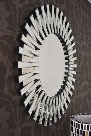 gold leaf round mirrored circles