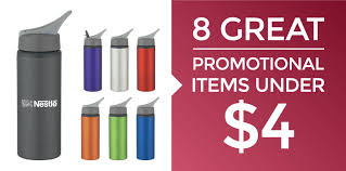 8 promotional items under 4 giveaway