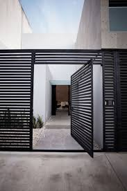 60 Gorgeous Fence Ideas And Designs Renoguide Australian Renovation Ideas And Inspiration Modern Fence Design Entrance Design Front Door Design