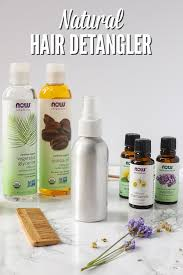 homemade natural hair detangler spray