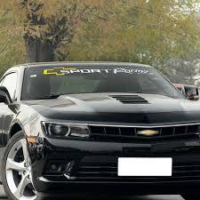 Sport Racing Car Windscreen Windshield Window Sticker Decal For Chevrolet Cruze Captiva Lacetti Aveo Orlando Camaro Accessories Car Stickers Aliexpress