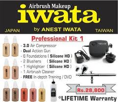 iwata professional airbrush makeup kit