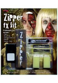zipper fx makeup kit scary