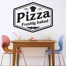 Advertising Boards Shop Signs Custom Restaurant Pizza Pizzeria Shop Sign Text Wall Window Decal Sticker Art Business Office Industrial Supplies Union Cs Co Jp