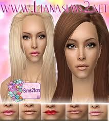liana sims 2 makeup