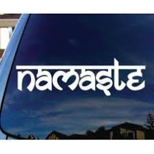 Namaste Tibet Buddha Car Window Decal Automobile Tablet Decal Tablet P Mymonkeysticker Com