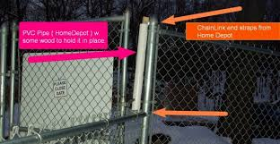 Tempory Gate Fix From Dotfur Freezing Help Ossining Dog Park Facebook