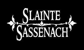 Slainte Sassenach Decal Custom Celtic Scotland Vinyl Car Truck Window Customvinyldecals4u