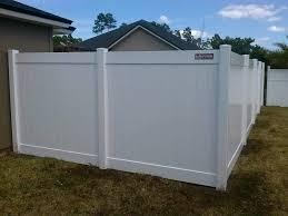 Vinyl Fencing North Florida Fence Company