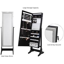 jewelry cheval armoire makeup storage