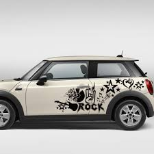Rock Music Car Decal Stickers For Mini Price 82 00 Free Shipping Musigifts Gifts For Musicians Musicgifts In 2020 Rock Music Car Car Decals