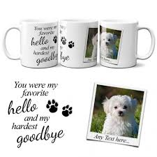 dog remembrance gift mugs personalised