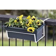 Panacea 89053 Over The Deck Adjustable Flower Box Holder Walmart Canada