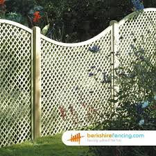 Concave Diamond Lattice Fence Panels 4ft X 6ft Brown Trellis Fence Trellis Fence Panels Lattice Fence Panels