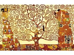 Wieco Art Tree Of Life Canvas Print By Gustav Klimt Oil Paintings Reproduction Giclee Artwork For Wall Decor Modern Canvas Wall Art For Home And Office Decoration Picture Print On Canvas Art