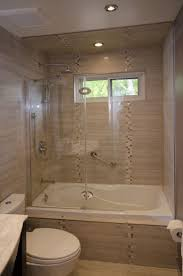 tub enclosure with shield bathroom