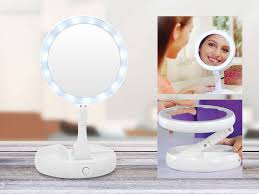 double sided led vanity mirror