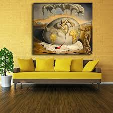 Unframed Printed Poster Spanish Artist Salvador Dali Watching The Birth Of The New Canvas Modern Oil Art Painting Home Wall Decal Photo 50 X 50 Cm Wish