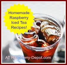 raspberry iced tea recipes make iced