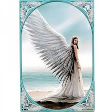anne stokes angel fantasy art spirit
