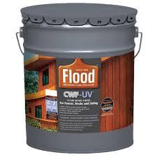 Flood 5 Gal Clear Cwf Uv Exterior Wood Finish Fld542 05 The Home Depot