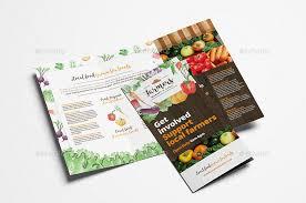 farmers market tri fold brochure