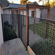China Modern Decorative Laser Cut Aluminum Wall Screen Steel Fence Screen China Aluminum Gate Laser Cutting Gate