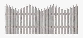 Garden Fence Png Picket Fence Transparent Png Free Transparent Clipart Clipartkey