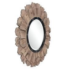 rustic round mirror malnad co