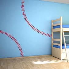 Baseball Stitching Wall Decal Baseball Wall Decals Wallums