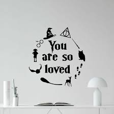 Wallpops Wpq2668 You Are So Loved Wall Decal Metallic For Sale Online Ebay