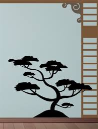 Bonsai Tree Wall Decal Sticker