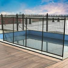 Costway 4 X48 In Ground Swimming Pool Safety Fence Section 4 Set 4 X12 Walmart Canada