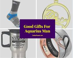 good gifts for aquarius man zodiac