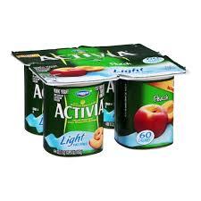 dannon activia nonfat yogurt light