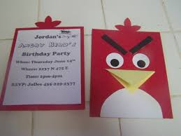 Angry Bird S Birthday Party Cumpleanos Angry Birds Invitaciones