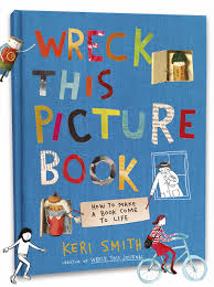 Wreck This Picture Book by Keri Smith - Penguin Books Australia