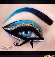 egyptian makeup eyeshadow saubhaya makeup