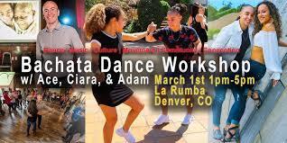 Bachata Dance Workshop in Denver w/ Ace, Ciara & Adam Taub — Bachata Class