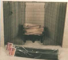 fireplace curtain fireplace mesh screen