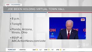 Joe Biden virtual town hall marks new ...