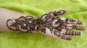 khafif mehndi design simple front hand