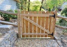 How To Build A Gate For Your Fence Smart Girls Diy Garden Gate Design Wooden Fence Gate Building A Gate