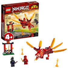 LEGO NINJAGO Legacy Kai?s Fire Dragon 71701 Building Kit (81 Pieces) -  Walmart.com - Walmart.com