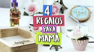 4 Regalos Faciles Para Mama Ideas De Ultimo Minuto Paulettee Youtube