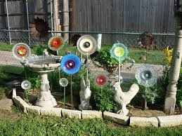 glass plate flowers awesome diy