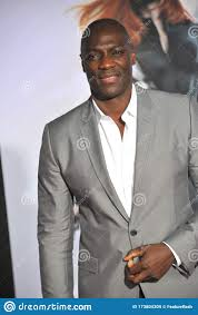 Adewale Akinnuoye-Agbaje editorial stock image. Image of length ...