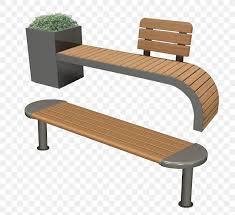 bench chair garden seat park png