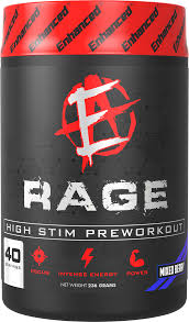 Rage Stim Pre-Workout - Enhanced